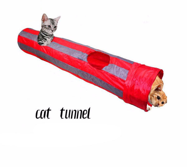 Foldable Cat Tunnel - PawMerch