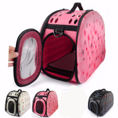 Fashionable Portable Dog Carrier (Side-Bag Model) - PawMerch
