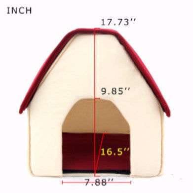 Little House-Bed for Puppies/Doggies - PawMerch