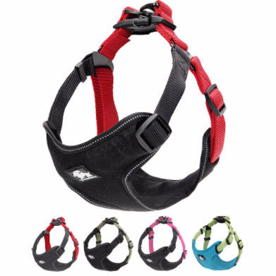 Padded & Reflective Nylon Dog Harness-Vest for Small-Medium dogs - PawMerch