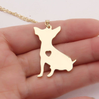 Beautiful Chihuahua Pendant Necklace - PawMerch