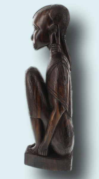 Makonde art sculpture carving zawadee usa
