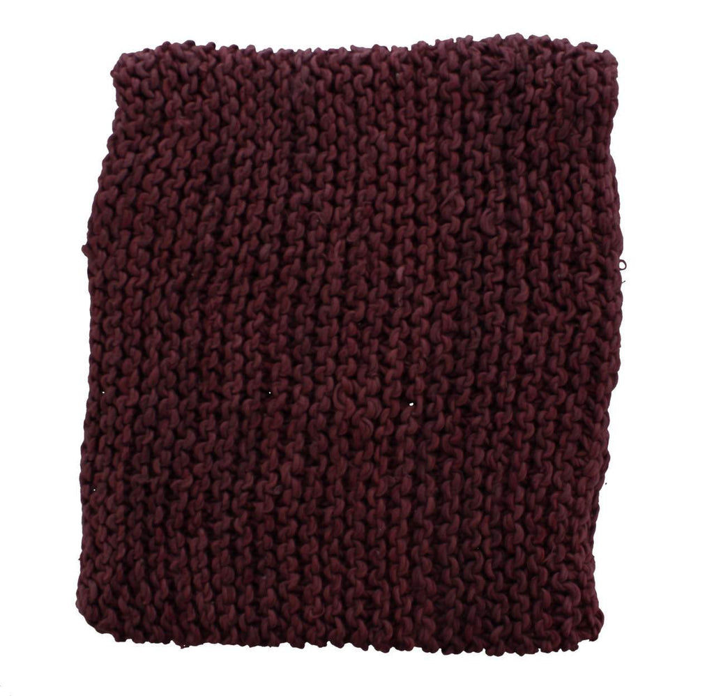 Hand Knit Organic Cotton Cowls