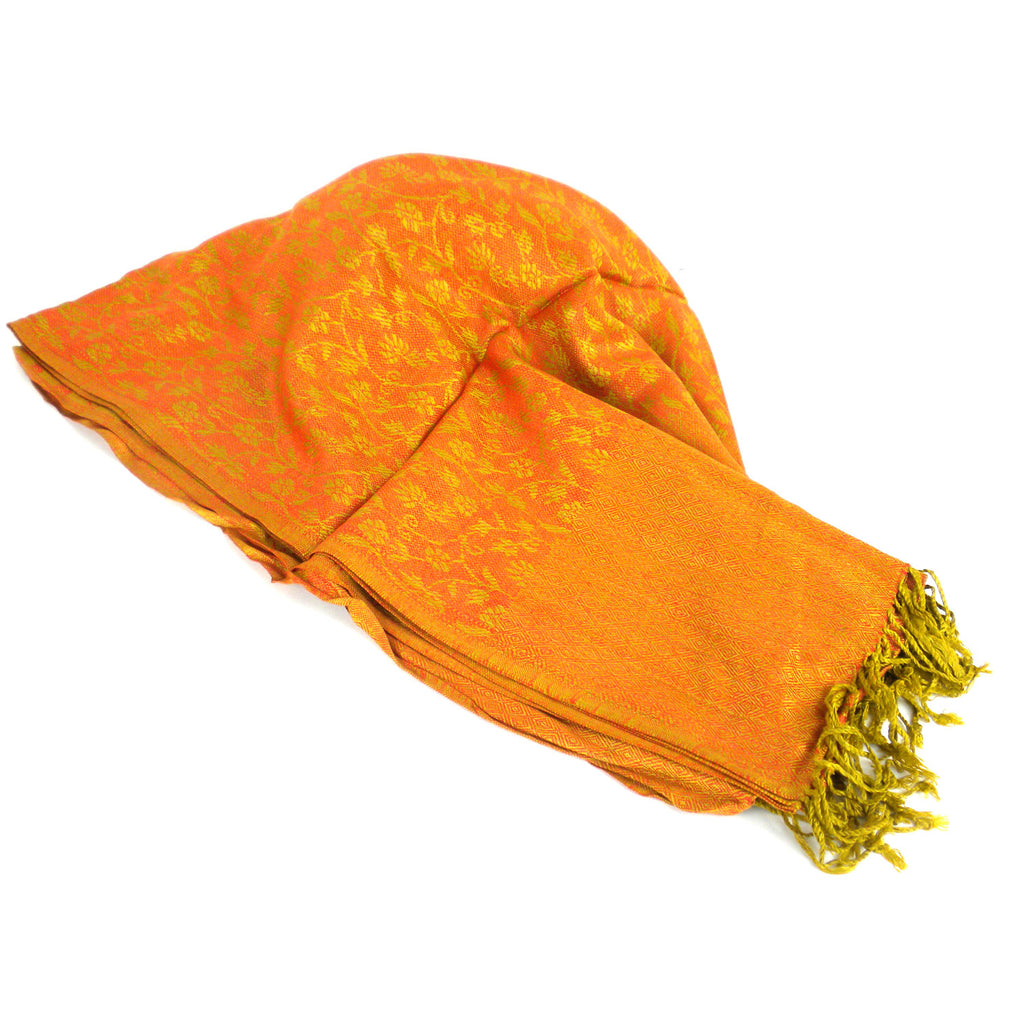 Golden Gayatri Shawl - Global Groove