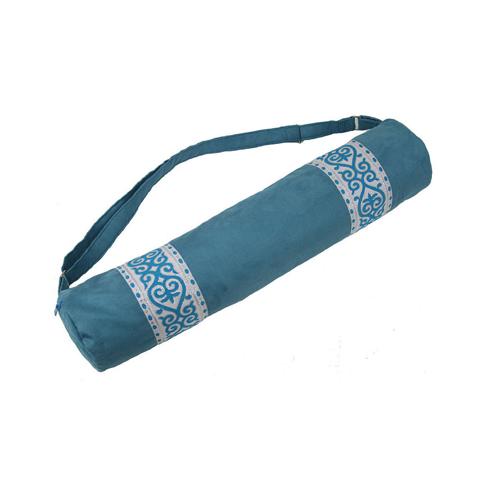 Taj Peacock Yoga Mat Bag Global Groove