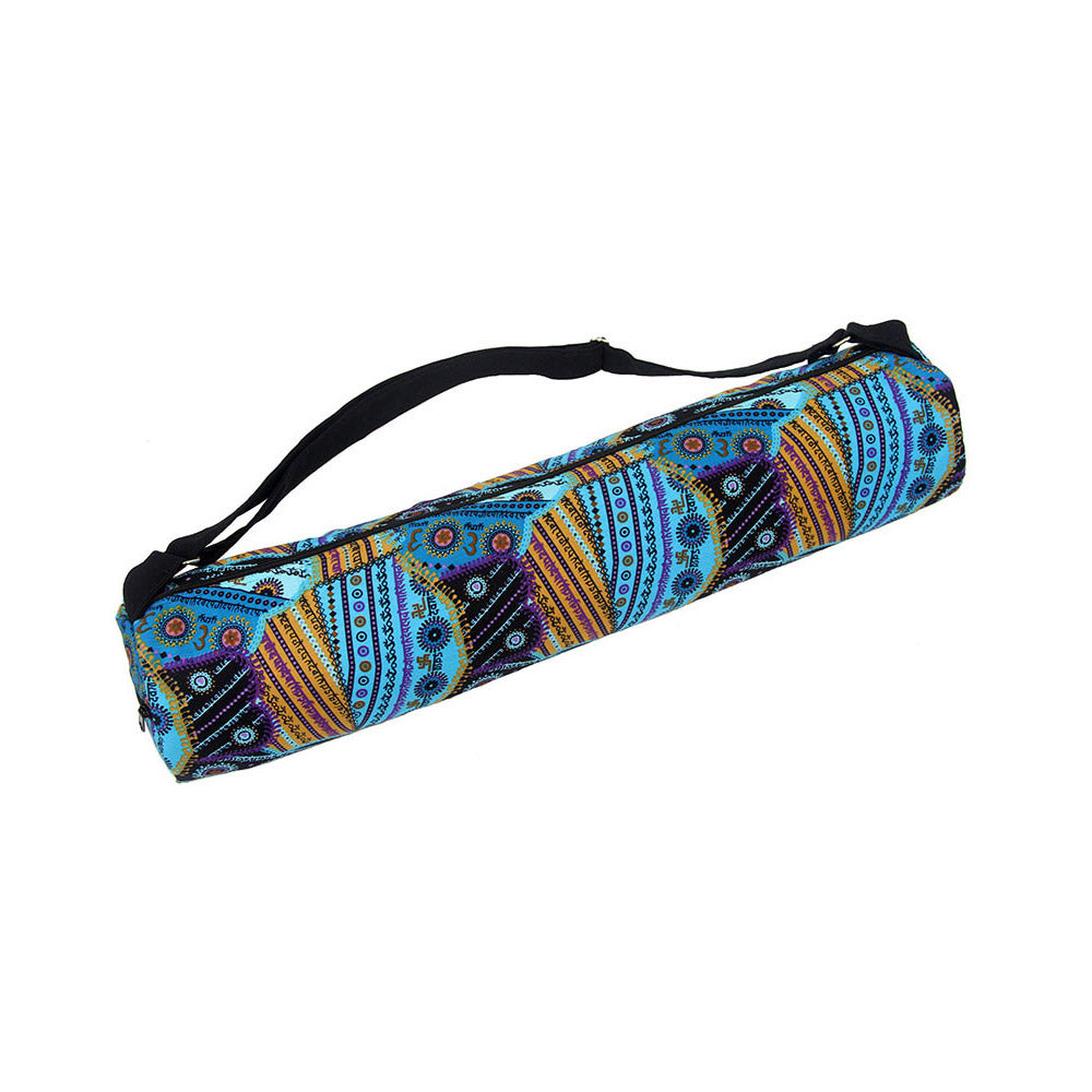 Om Turquoise Yoga Mat Bag Global Groove