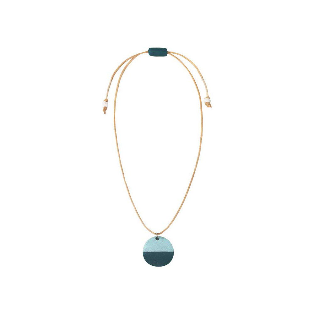 Sahel Necklace Teal - Global Mamas