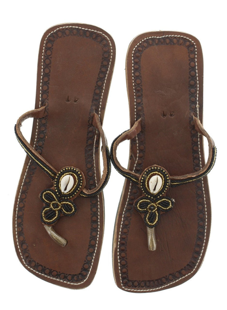 Leather Sandals Size 10.5 (US) 41 (EURO)