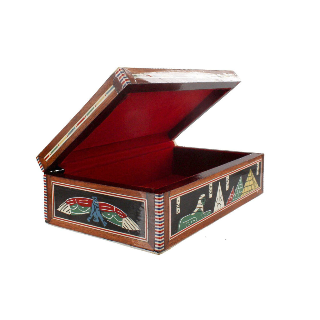 Egyptian Mother of Pearl Inlay Box Ancient Egyptian Design