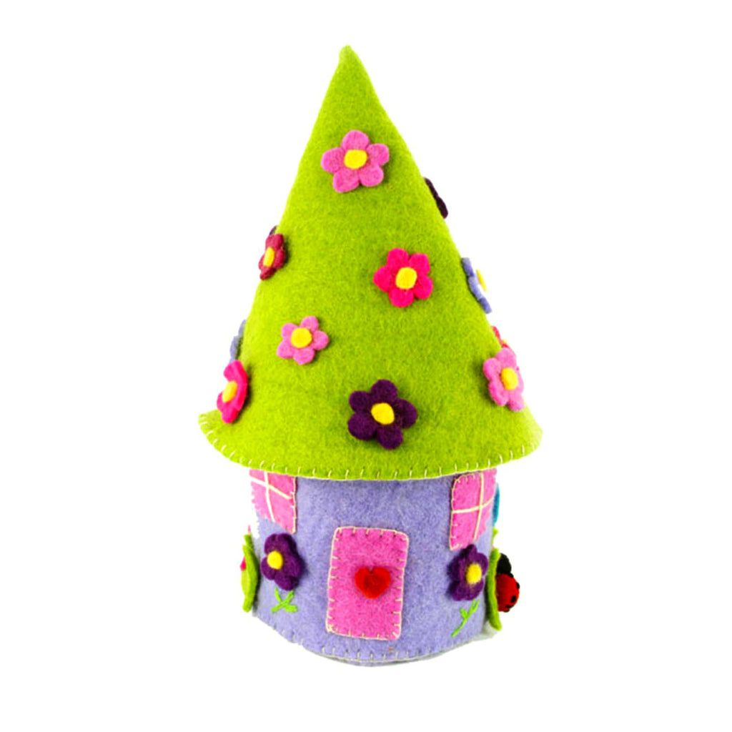 Felted Fairy House Global Groove