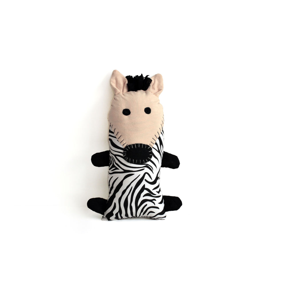 Little Friends Zebra Plush Dsenyo