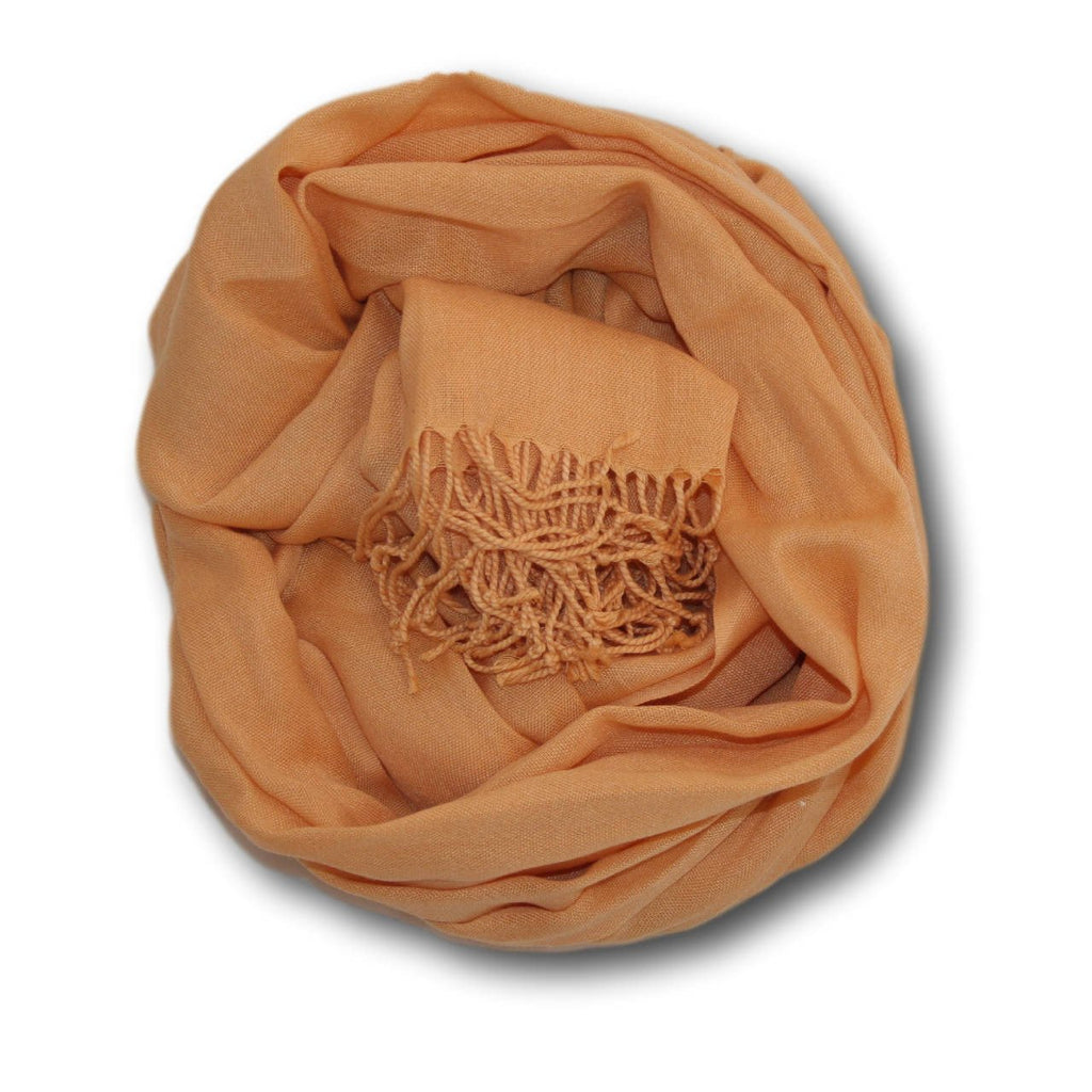 Pashmina-Style Womens Shawl 26 inches wide by 72 inches long Peachy Keen