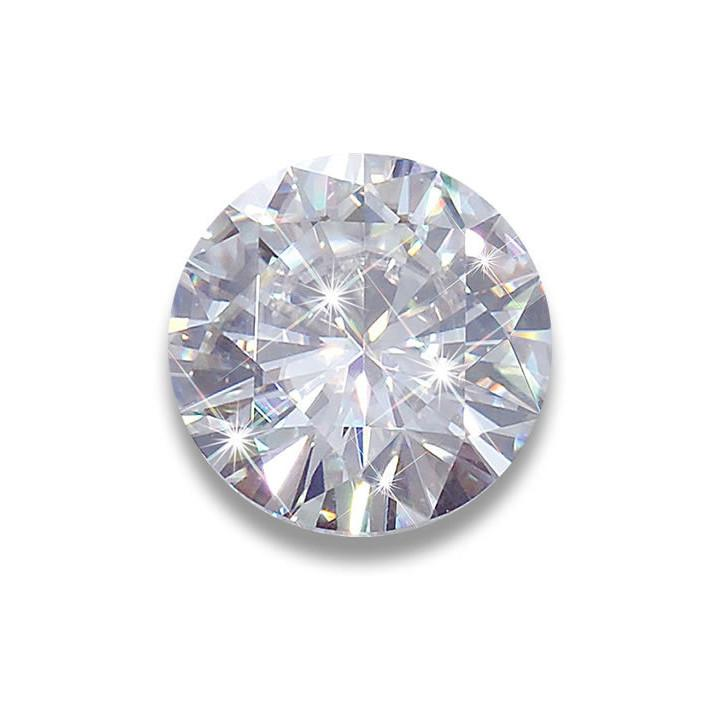 Diamond Gemstone Round Cut
