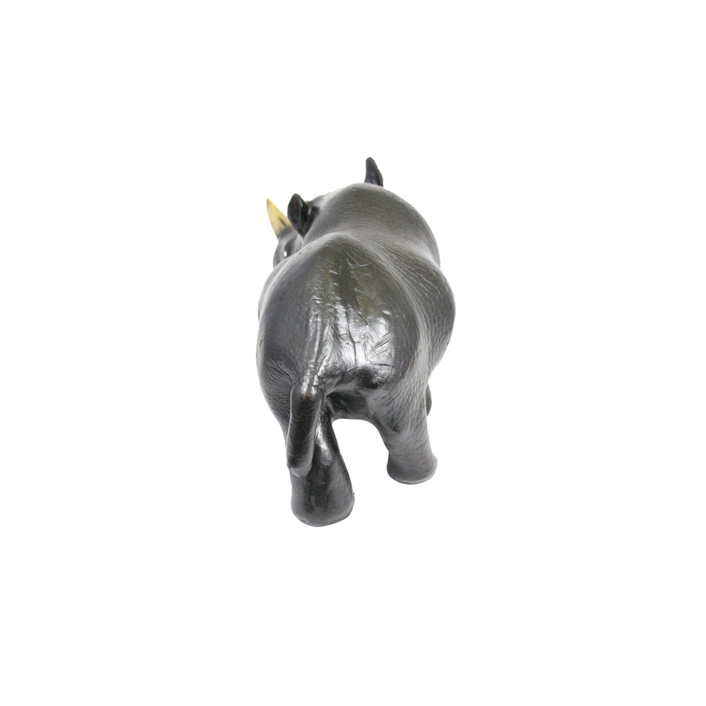 Rhinocerous made from hand made leather