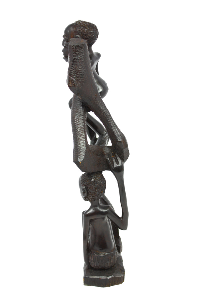 Man protecting his Woman from Shetani Spirit