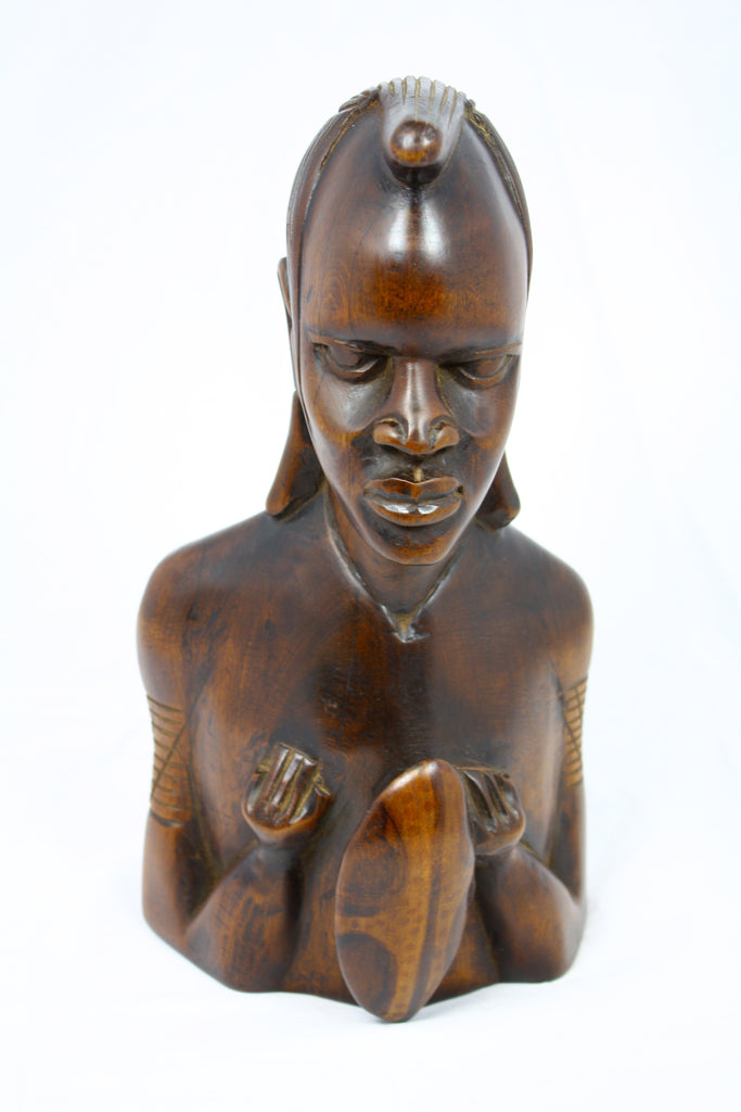 Man Head Carving