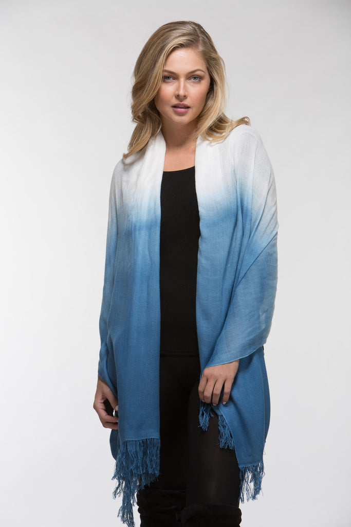 Bamboo Shawl | Dip-Dyed Contemporary | The Tsandza Collection