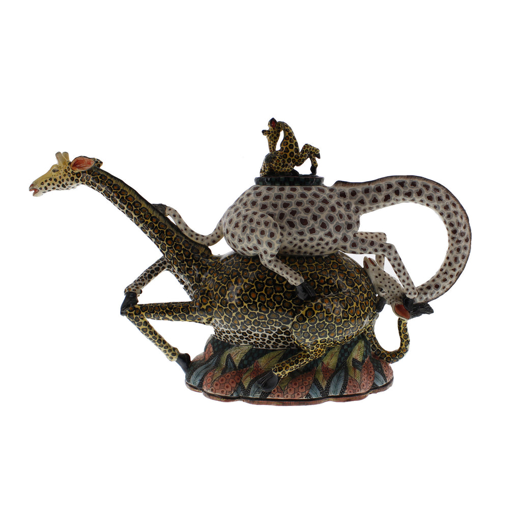 Giraffe Teapot | The Ardmore Collection | Fine Ceramic Art