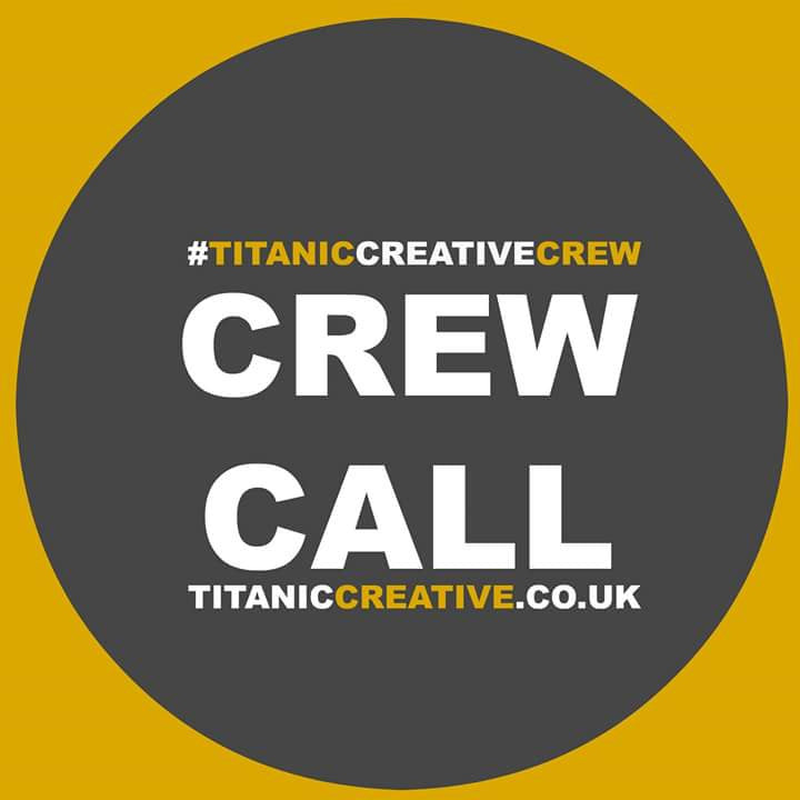 Crew Call for Production - 14th to 20th November 2016