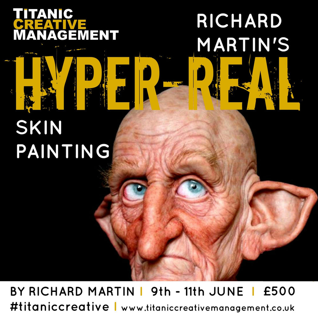 Huge Success on Richard Martin's Hyper Real Skin Painting