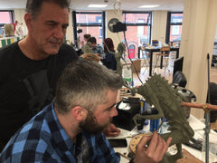Brian Wade Sculpting Creature Creation Sculpting Course Belfast 2018