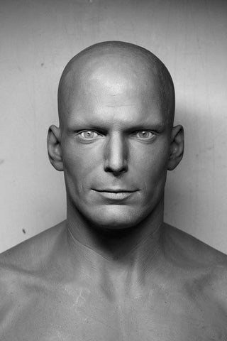 Christopher Reeve Sculpture by Richard Martin