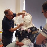 Dan Frye's lifecasting Training Courses, Titanic Creative Management, Titanic Creative Management, learn, makeup, courses, training, belfast, beauty, sfx, prosthetics, scultping, moulds, face, hands, weekend, ireland, northern_ireland, united_kingdom, uk, europe, Titanic Creative Management