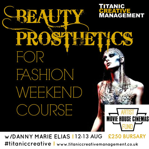 Danny Marie Elias's Beauty Prosthetics for Fashion - 12th & 13th August 2017
