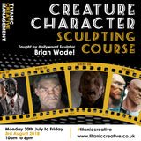 Brian Wade Stranger Things Demogorgan, Creature Design and Sculpting Week in Belfast, Training Course