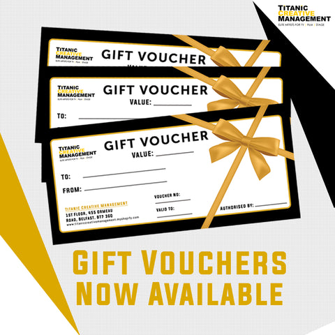 Gift Vouchers, Gift Voucher, Titanic Creative Management, Titanic Creative Education learn, makeup, courses, training, belfast, beauty, sfx, prosthetics, ireland, northern_ireland, united_kingdom, uk, europe, Titanic Creative Management