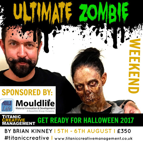 Brian Kinney's Ultimate Zombie Weekend - 5th & 6th August 2017