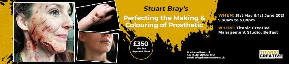 Perfecting Colouring Prosthetics Course with Stuart Bray