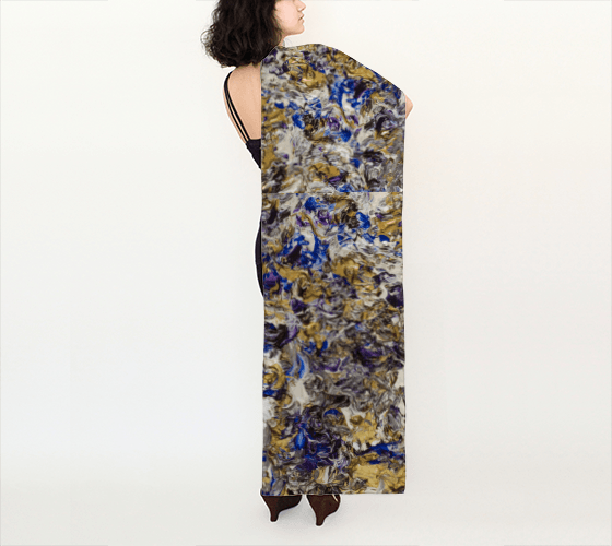 Golden Dream Long Scarf