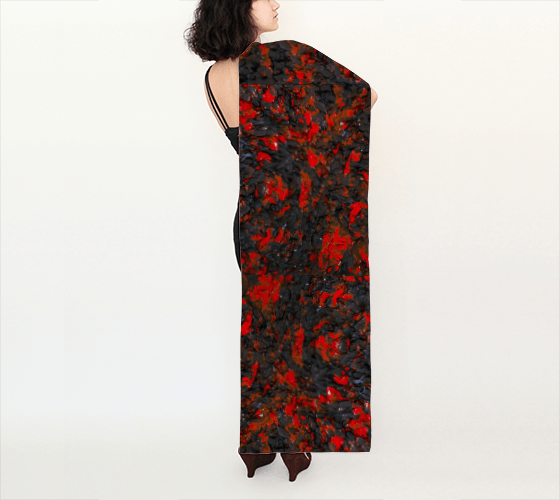 Red Viper Long Scarf