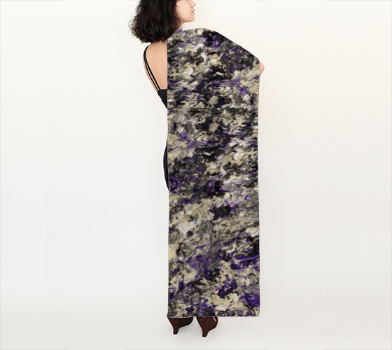 Violet Dream Long Scarf