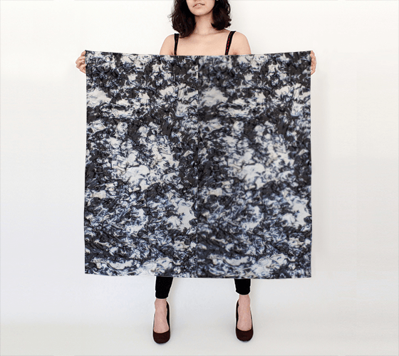 A Moonlit Walk Large Scarf