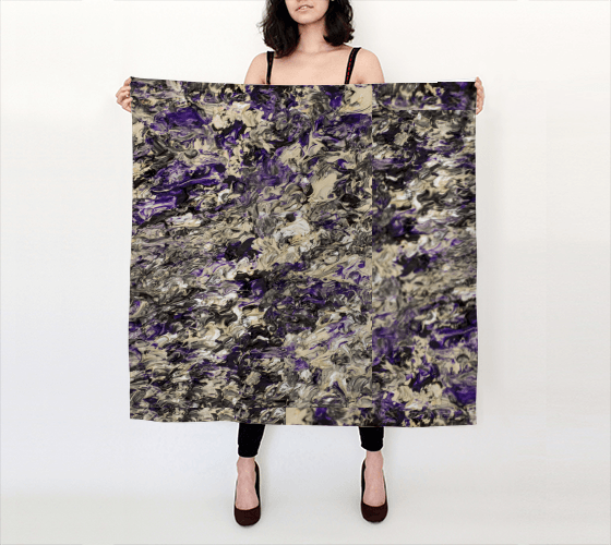 Violet Dream Large Scarf