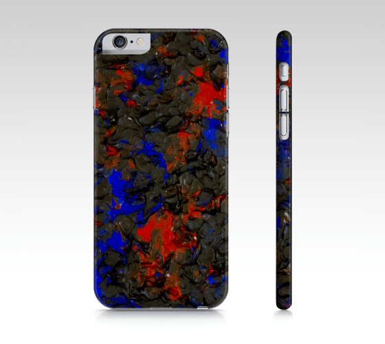 Blue Red Dance iPhone Case