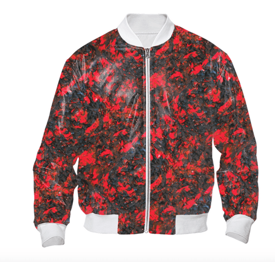 Red Viper Bomber Jacket
