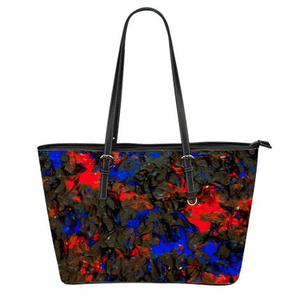 Blue Red Dance Tote Bag
