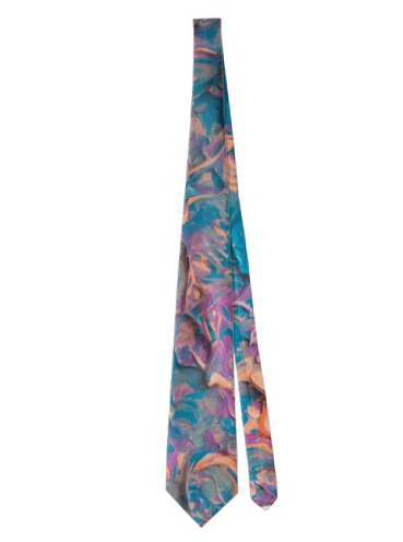 A Pink Imagination Tie