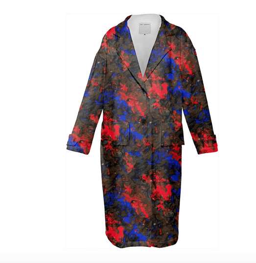 Blue Red Dance Trench