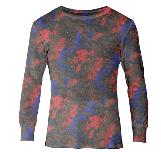 Blue Red Dance Thermal