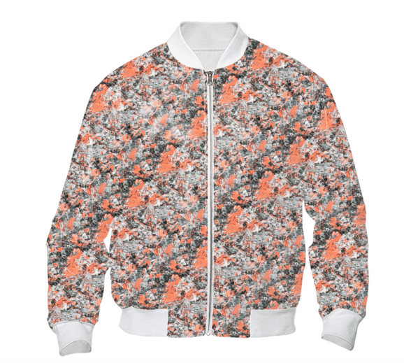 Copper Mind Bomber Jacket
