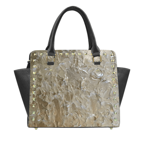 A Bright White Shoulder Bag