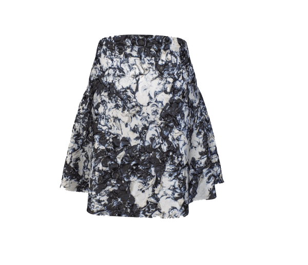 A Moonlit Walk Flare Skirt