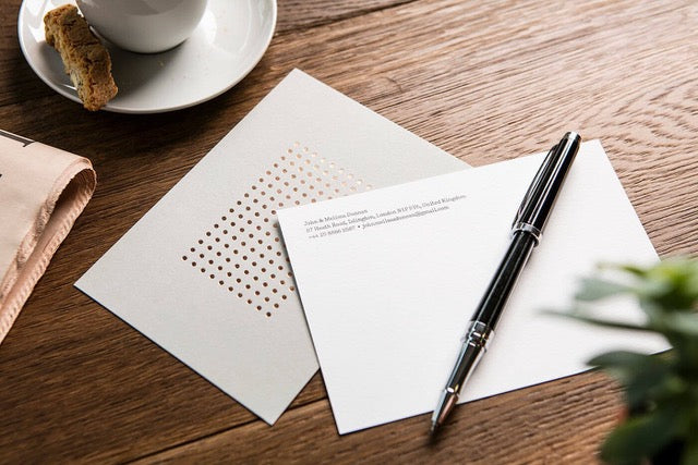 Hand-written Notes – An Essential Building Block for the Personal Brand