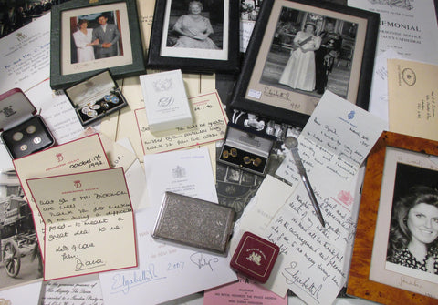 Princess Diana Letter items