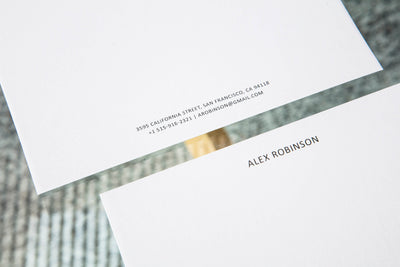 Classic Letterheads | Grey