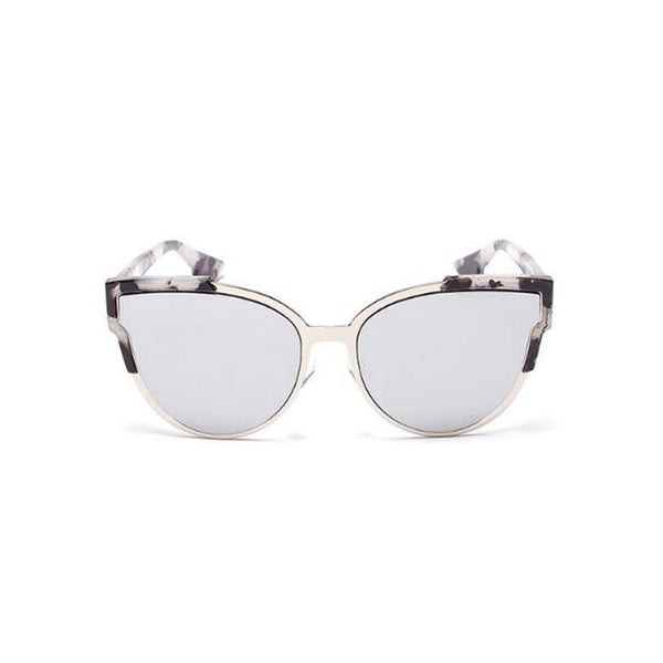 Blair Sunglasses - Silver/Tortoise